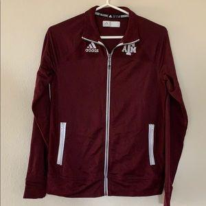 Maroon Zip Up Jacket